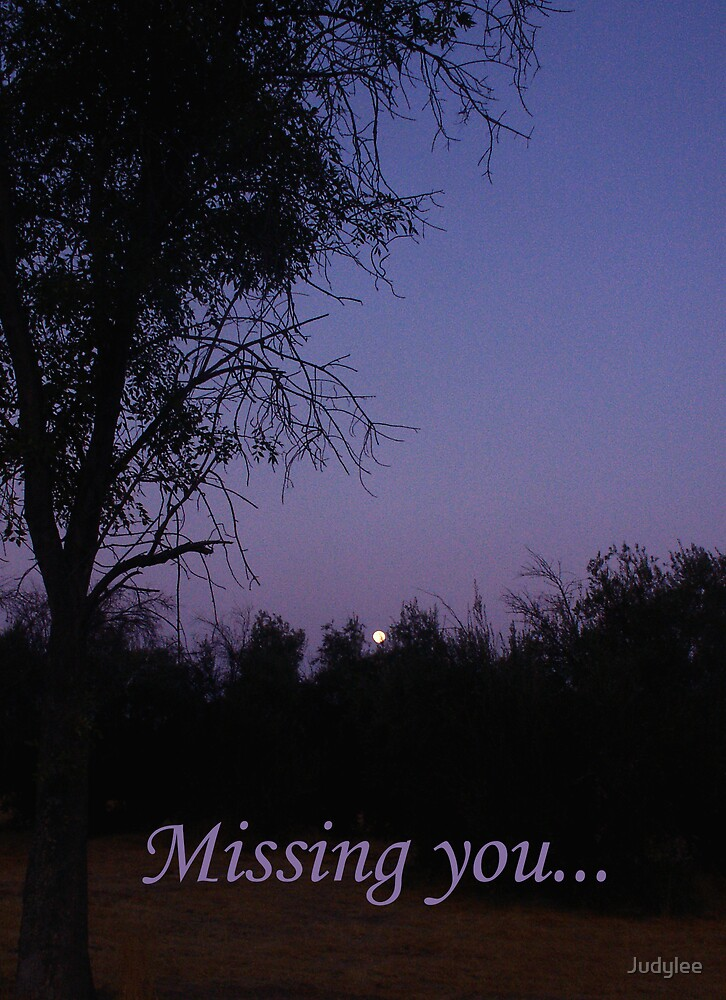 Missing You by Judylee