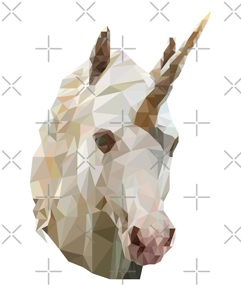 Unicorn Geometry Shapes T-Shirt by merchstorehouse