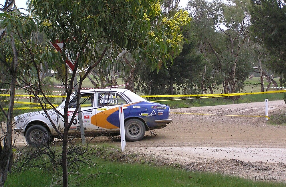 MAzda Rx2 cappela adelaide rally 2008  by Malkman