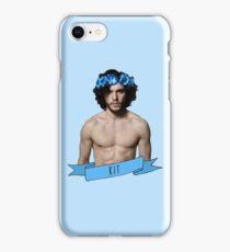 Jon Snow Flower Crown - Kit iPhone Case/Skin
