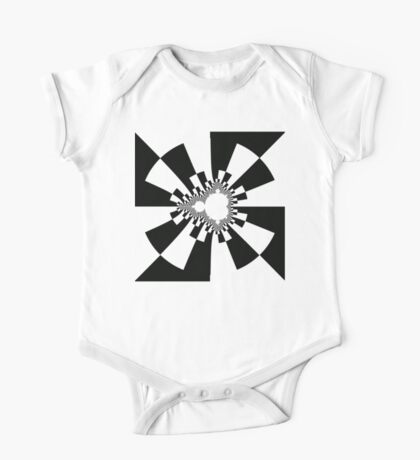 Mandelbrot XV - Black Kids Clothes