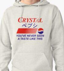 Crystal Pepsi Logo Japanese Pullover Hoodie