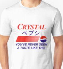Crystal Pepsi Logo Japanese Unisex T-Shirt