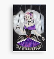 Gothic puppet Canvas Print