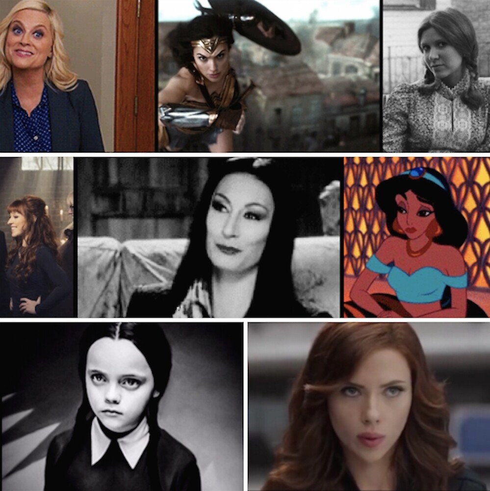 Awesome Pop Culture Women by allthecollages