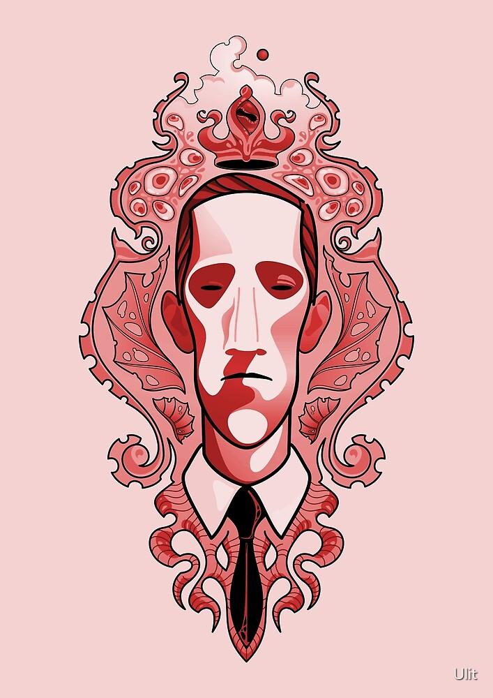 Lovecraft (vermilion despair) by Ulit