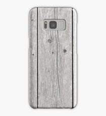 Background of wooden boards Samsung Galaxy Case/Skin