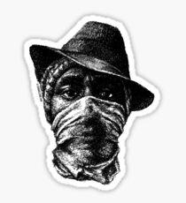 Scribbled Rapper Sticker