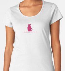 DEVIL MAKE ME DO IT TSHIRT Women's Premium T-Shirt