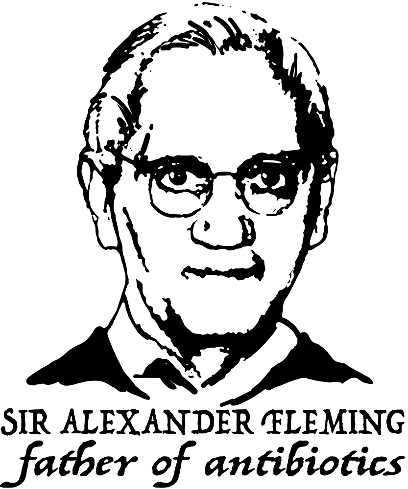 Sir Alexander Fleming father of antibiotics by MichaelRellov
