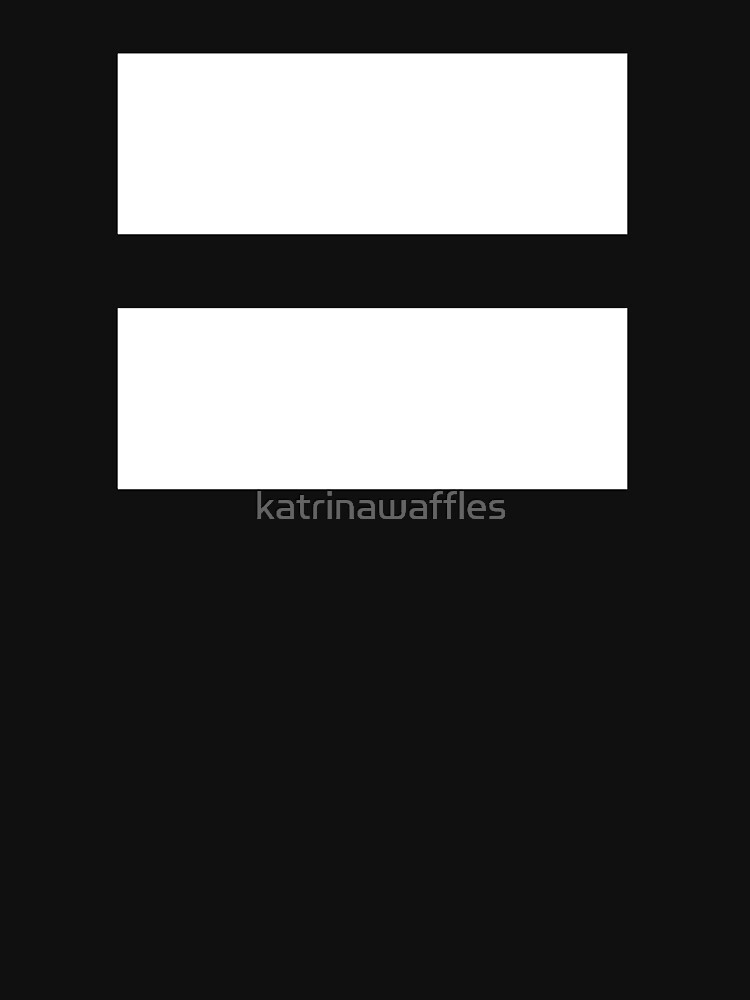equal sign equality symbol by katrinawaffles