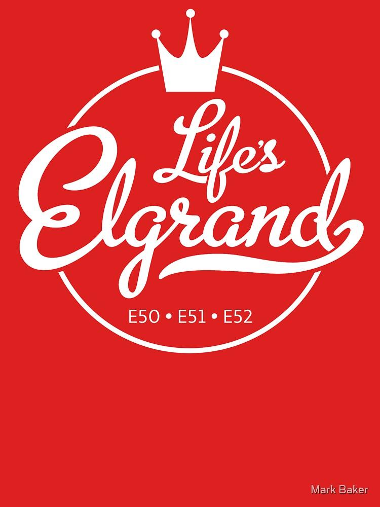 Life's Elgrand V3 - Nissan Elgrand Tshirt and Accessories by MarkPMB