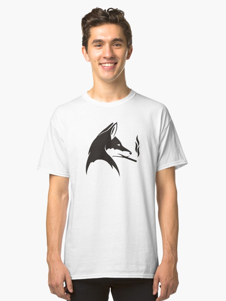 WOLFSMOKE TSHIRT Classic T-Shirt Front