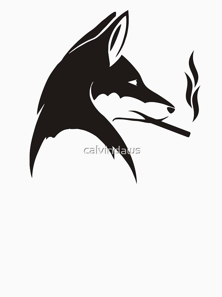 WOLFSMOKE TSHIRT by calvindaws