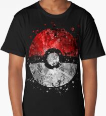Pokemon Splatter Long T-Shirt
