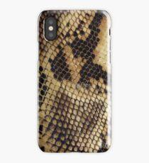 Tanned Snakeskin iPhone Case/Skin