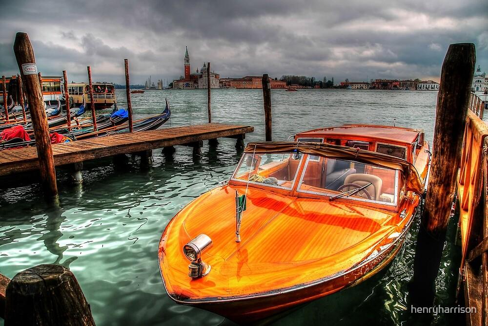 Venetian Water Taxi by henryharrison