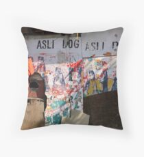 Wall no.28 Throw Pillow