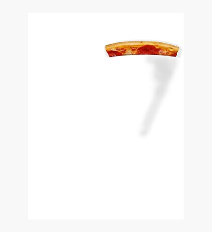 Pizza Pocket Photographic Print