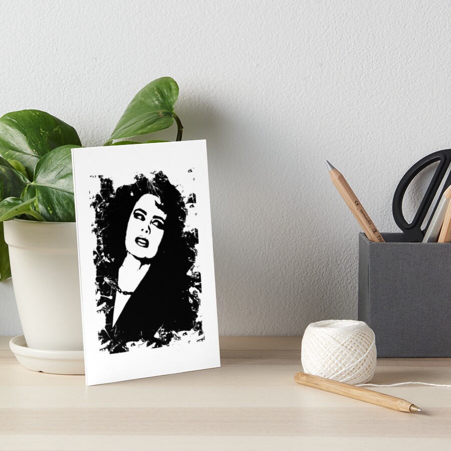 Hollywood Beauty Noir Stencil by digital-circus