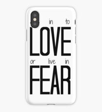 Give in to Love iPhone Case