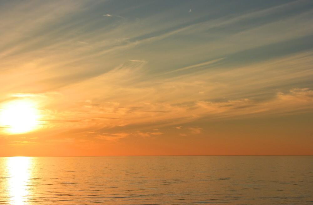 Sunset Swept Sky by OzShell