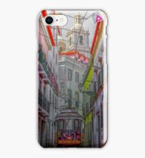 Lisbon Streets iPhone Case/Skin