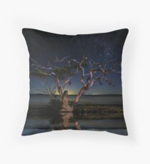 Before Adam, There Was Perfection - Mel Brackstone & Rose Throw Pillow