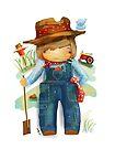 The Little Farmer by © Karin Taylor