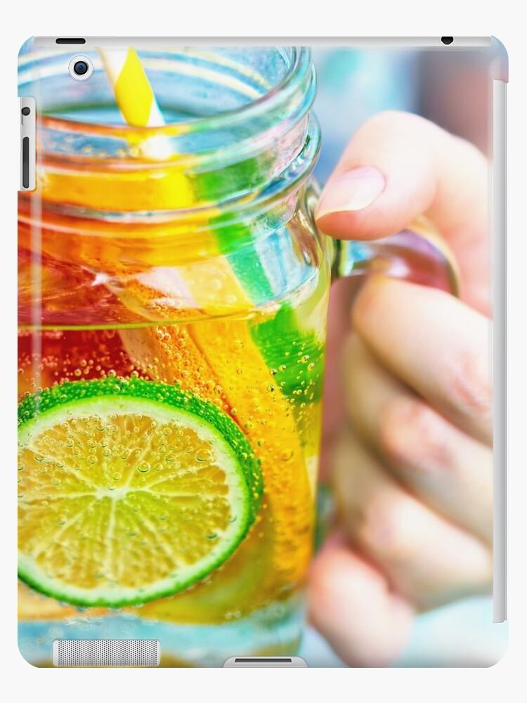 Fruit lemonade in jar by OllegNik
