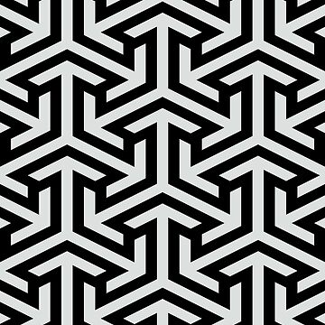 SEAMLESS WHITE PATTERN by foxandbear