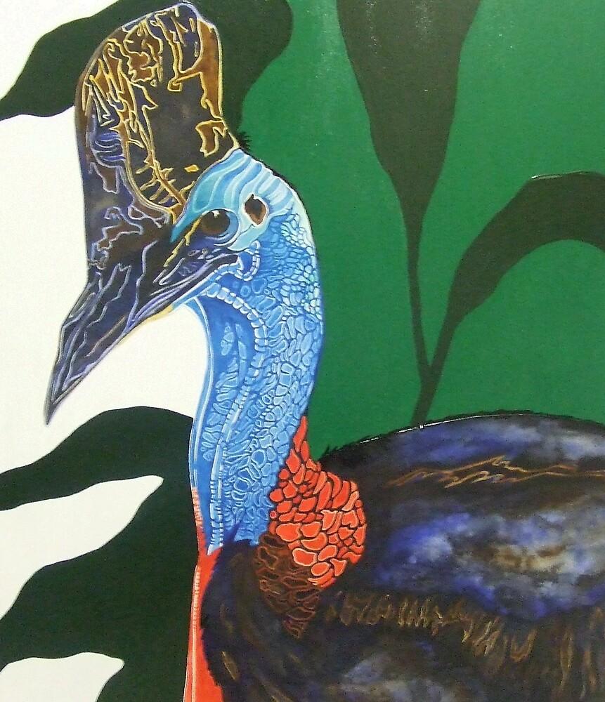 Cassowary by Megan Lane