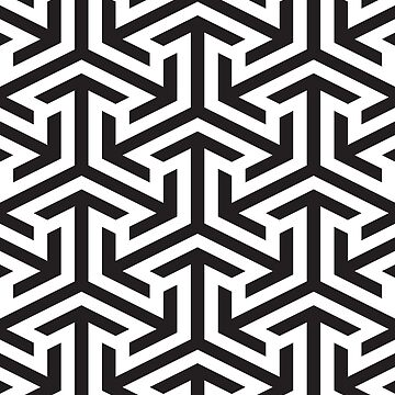 SEAMLESS BLACK PATTERN by foxandbear
