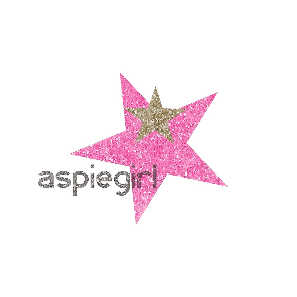 Aspiegirl - Woman with Aspergers ASD by crayonista