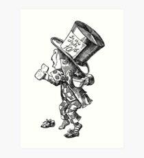 Mad Hatter - Alice in Wonderland Art Print