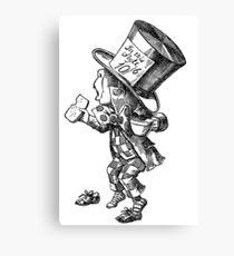 Mad Hatter - Alice in Wonderland Canvas Print