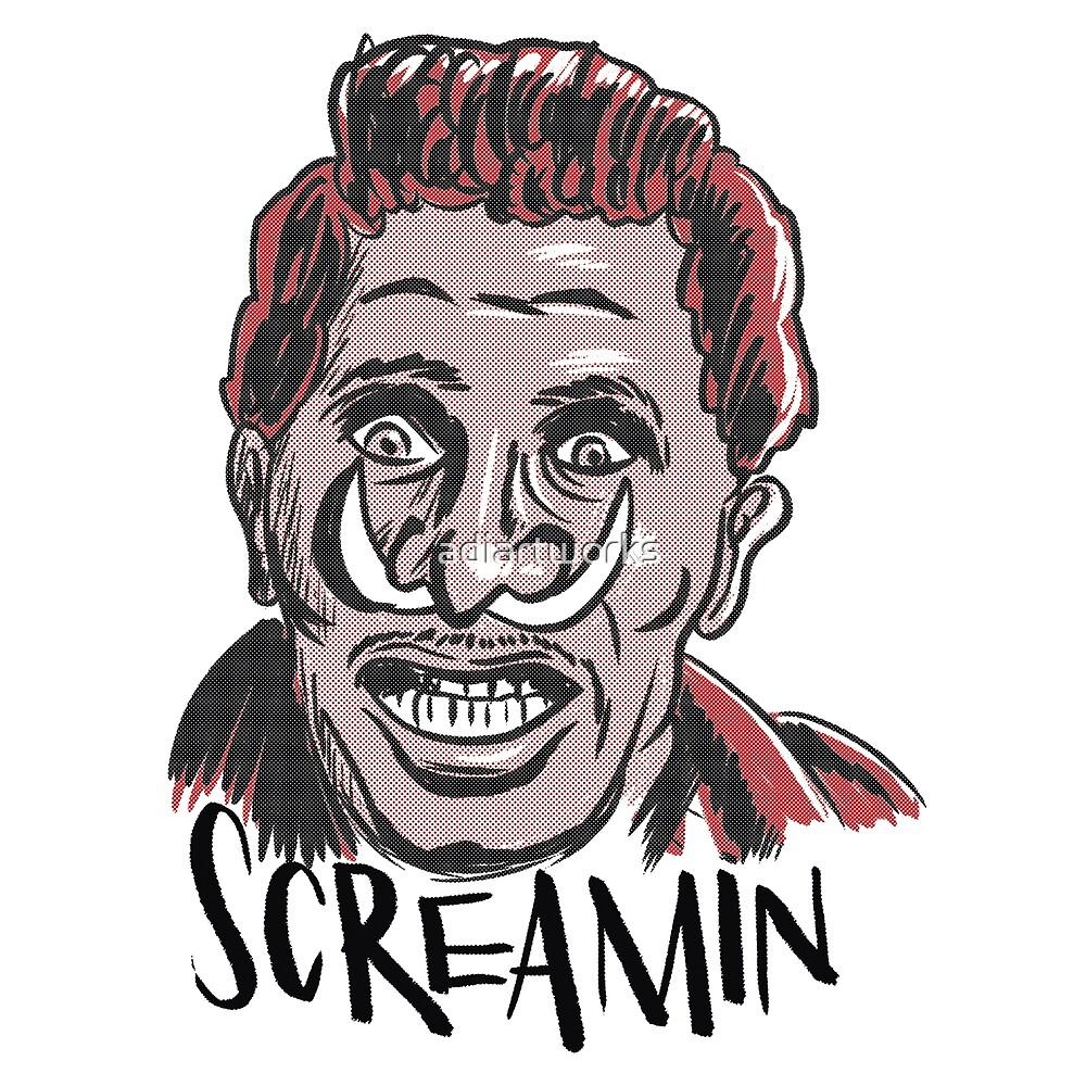 Screamin Jay Hawkings by adiartworks