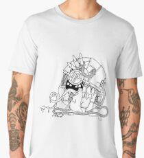 Cyberart Dark Pokemon Pokeball Men's Premium T-Shirt