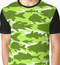 Camouflage Fish - Spring Zing Graphic T-Shirt