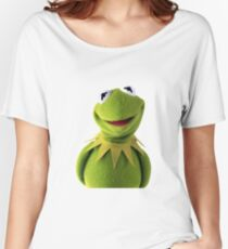 Kermit The Frog T-shirt Women's Relaxed Fit T-Shirt