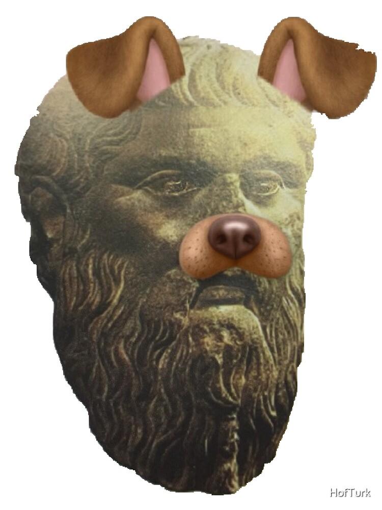 Plato Doggo by HofTurk
