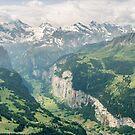 Lauterbrunnen Valley by George Wheelhouse