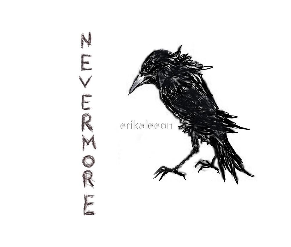 The raven by erikaleeon