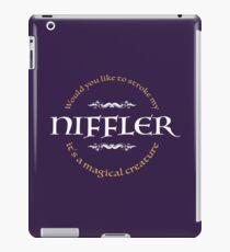 Stroke my Niffler iPad Case/Skin