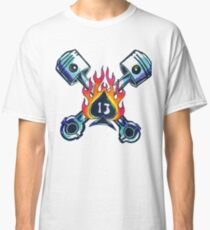 Lucky13 - 13 of Spades Classic T-Shirt