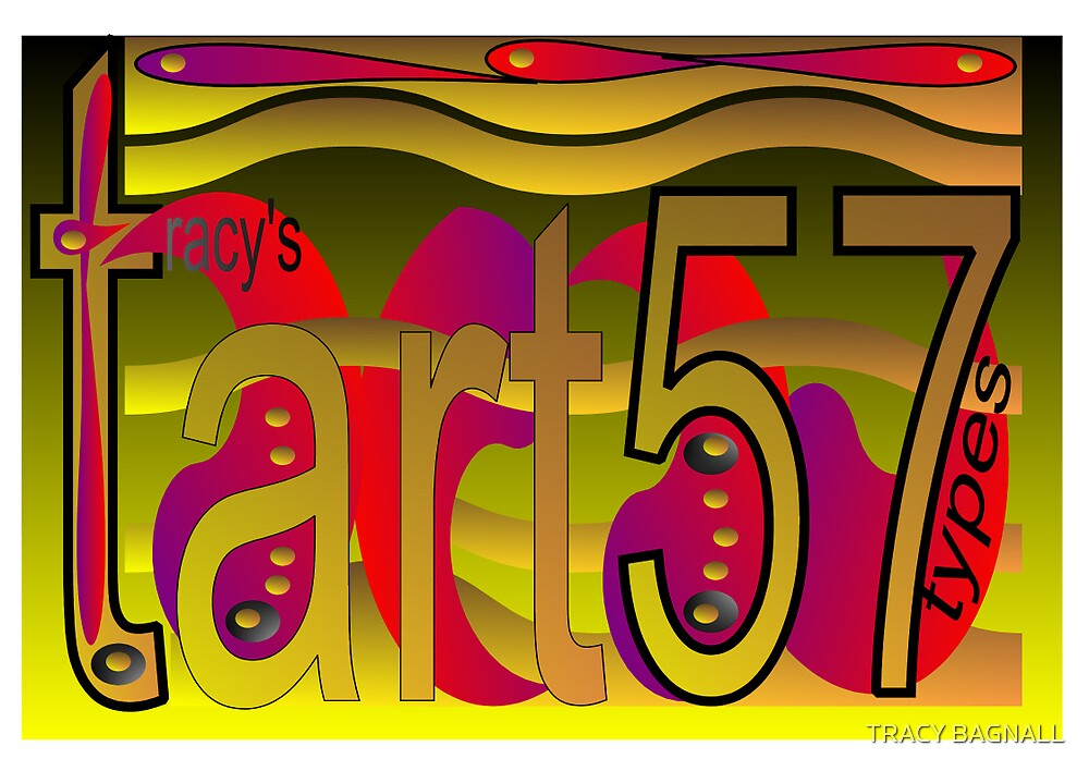tart-my banner by TRACY BAGNALL