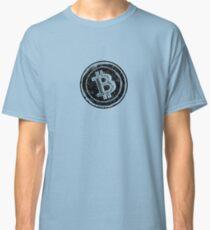 Bitcoin Cash Circle- Black Classic T-Shirt