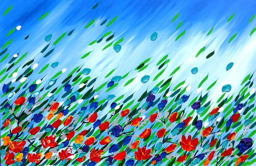 Wildflower Storm by CateJacobs