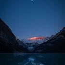 Lake Louise Moonrise by George Wheelhouse