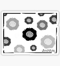 'Bunga Terong / Brinjal Flower' Sticker